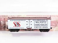 N Scale Micro-Trains MTL 05800150 Schwarzchild Sulzberger 36' Meat Reefer #2025