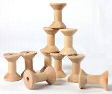 Wood Spools for Ribbon Carousel 10 Per Package Sealed Nip