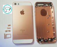 Backcover Akkudeckel Rück Cover Gehäuse Rahmen für Apple iPhone SE Rosegold Tast