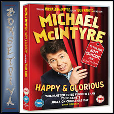 MICHAEL MCINTYRE - HAPPY & GLORIOUS *BRAND NEW DVD***