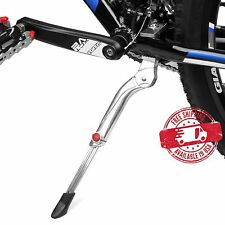 "BV Bike Kickstand Heavy Duty Adjustable Aluminum Alloy MTB 24""-29"" NEW KA64-SL"