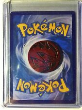 Pokemon -TCG Red Zoroark Coin XY BreakThrough EX M Game Holo Ultra Rare + Card