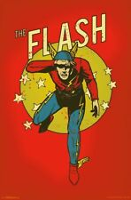 THE FLASH - VINTAGE STYLE POSTER - 22x34 DC COMICS 16479