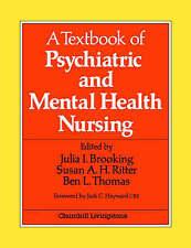 A Textbook of Psychiatric and Mental Health Nursing, 1e, Brooking PhD  BSc  RMN