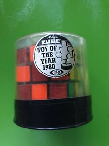 Vintage Ideal Toy Corp.1980 Rubik's Cube 3x3 Toy
