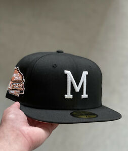Hat Club Exclusive New Era Manolo Milwaukee Braves Peachtree 7 1/4 1957 WS Peach