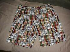 Cape Madras Men's Bermuda Golf Shorts 38 (preppy ?)