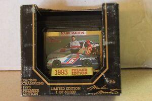1993 Racing Champion Mark Martin #6 Valvoline Ford Thunderbird 1/64