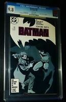 BATMAN #407 Year One Part 4 1987 D.C. Comics CGC 9.8 NM/M
