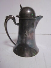 VINTAGE WILCOX SILVER PLATE CO #N41 TALL MILK CREAMER PITCHER