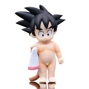 Anime Dragon Ball Z Childhood Goku PVC Action Figure Collectible Kids Toy No Box
