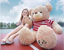 78'' Big Teddy Bear Plush Toy Huge Soft Stuffed Animal Doll Valentine Gift 200CM