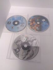 3 Disney Playstation 1 Games Disc Only Tarzan, A Bug's Life & Tiggers Honey Hut
