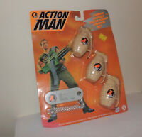action man vintage 1990's cannon assault squirt grenade play set