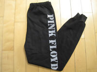 NEVER WORN!! 80s vtg PINK FLOYD jogging pants BLACK sweat SMALL