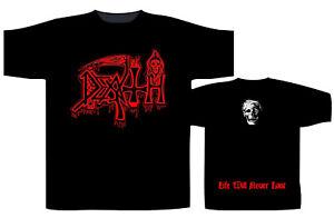 DEATH - Life will never last Logo T-Shirt