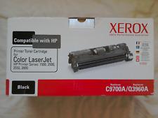 Xerox HP C9700A/Q3960A Black Laserjet Toner Cartridge