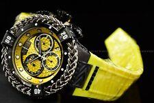 Invicta 53mm Reserve Bolt Hercules Swiss Mvt. Lemon Yellow Black Chrono Watch