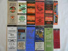 Akron Ohio businesses automotive industrial V.F.W. low #s matchbooks