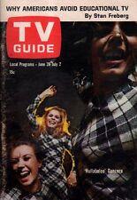 1965 TV Guide June 26 - HULLABALOO; Janine Gray; Jack Sheldon; Frank Sutton