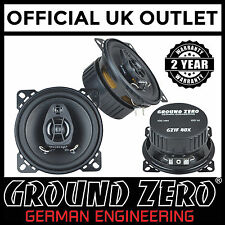 "Ground Zero Iridium GZIF 40X 100 Watts 10cm 4"" 2 Way Coaxial Car Speakers"