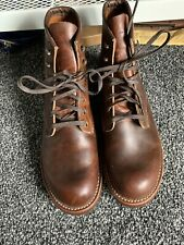 Red Wing Blacksmith Heritage Mens Copper Leather Casual Boots Uk 8