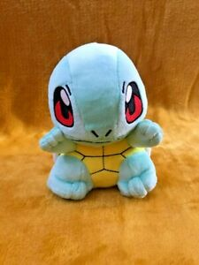 "Pokemon Squirtle 6.5"" / 16cm Plush Soft Toy Teddy - BRAND NEW"