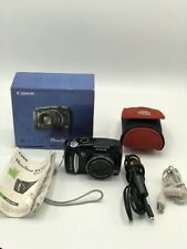Canon PowerShot SX120 IS 10MP Digital Camera 10x Optical Zoom for part or repair