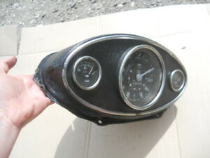 Classic Austin/ Morris Mini Mk1 & Mk.2- 3 Clock Dash for restoration us import