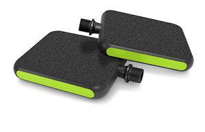 """MOTO Pedale Urban """"Reflex"""" grün - das ultimative City Pedal für alle Schuharten"""