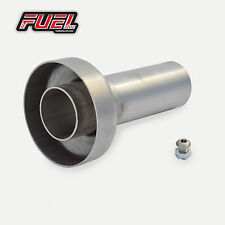 Removable Baffle DB Killer Noise Reducer 63.5mm I.D for Straight Outlet Exhausts