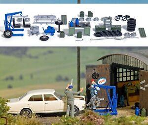 BUSCH Garage Equipment 1184 1:87