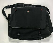Swiss Gear Wenger Laptop Messenger Bag w Pockets and Accessory Case Used