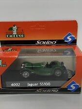 Solido 4002 1/43 Scale Diecast Jaguar SS100 Boxed VGC