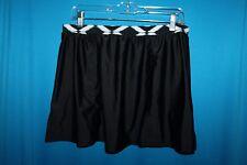 Swim by Chuck Handy Women's BLACK Swimwear SKIRT  Cover-Up  (14) EUC!!