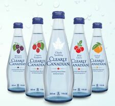 Clearly Canadian Sparkling Water 5-PACK--->Your choice of flavors! Mix & Match!