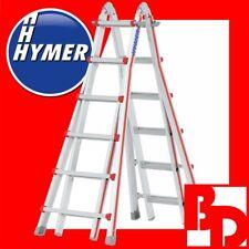 Hymer TELESKOPLEITER 4042 4x6 Sprossen Leiter Telestep Mehrzweckleiter 404224