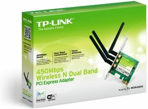 NEW SEALED TP-LINK N900 Wireless Dual Band PCI Express Card Model No. TL-WDN4800