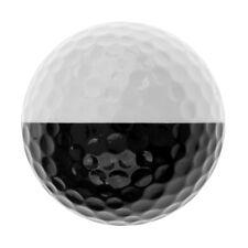 Golf Ball Golf Training Soft Rubber Balls Practice Ball Black and White