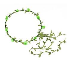 Womens Hairband Headbands Flower Garland Crown Bridal Wedding Hair Accessories