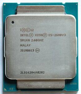 Intel Xeon E5-2690v3 12x 2.60GHz Sockel 2011-3