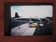 PHOTO AVION AIRCRAFT FLUGZEUG AIR CONGO AIRLINE RANGE ROVER SHELL AIRPORT