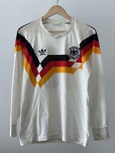 Germany / Alemania Jersey 1990 #10 Lothar Matthaus Adidas Size 2 (Medium)