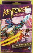 KEYFORGE WORLDS COLLIDE DELUXE ARCHON DECK SEALED