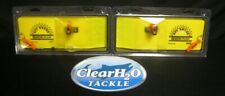 New listing 2 Pack Off Shore Planer Board Or12R Right Or12L Left Side Planer Walleye Salmon