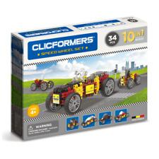 Genuine Clicformers Speed Wheels 34 Set pcs set - 3D Building Construction