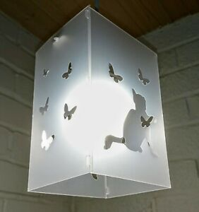 The cat butterflies cats lampshades lightshade lampshade boys girls bedroom baby