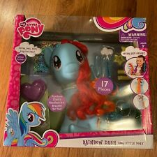 My Little Pony Movie Rainbow Dash Cool Style 17 Pieces Styling Hair