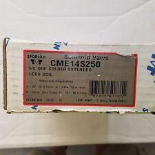 """Sporlan CME14S250 solenoid valve brand new in box 5/8""""OD"""