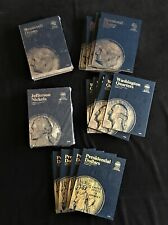 28 New Whitman Coin Albums...Various Denominations and Years..See pics and notes